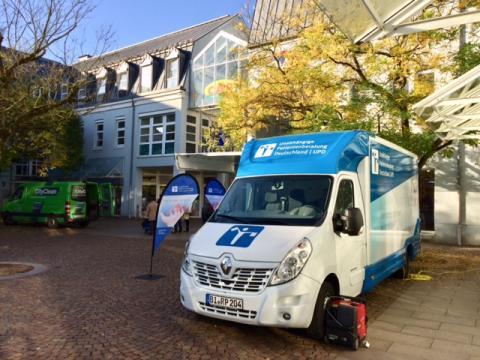 Beratungsmobil der Unabhängigen Patientenberatung kommt am 27. September nach Zweibrücken.