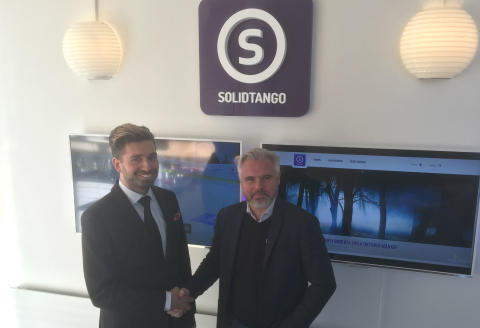 Nytt Spännande Samarbete mellan Legacy Global Sports och Solidtango.