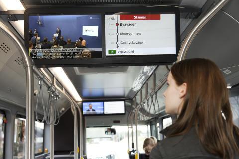 Skånetrafiken infotainment
