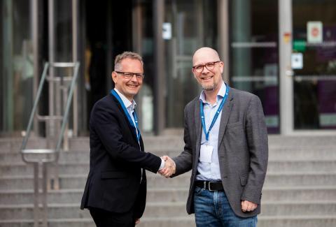 Jönköping University och Träcentrum ingår strategiskt partnerskap