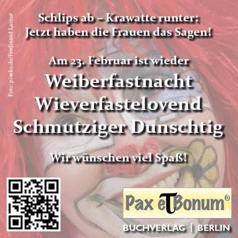 Pax et Bonum Verlag Schlips ab - Jetzt haben die Frauen das Sagen
