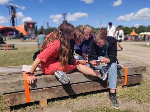 Historisk højt dataforbrug på Roskilde Festival
