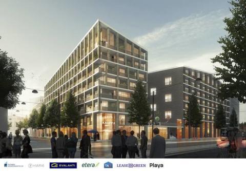 Etera rakennuttaa asuntoja Pohjois-Pasilaan tulevalle asuinalueelle