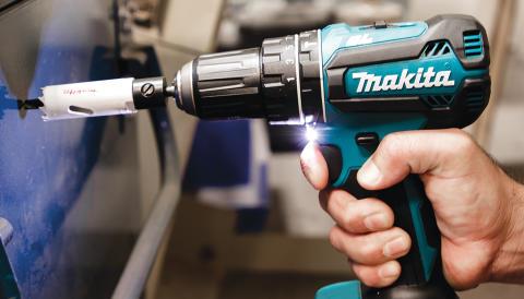 Makita lanserar en ny borrskruvdragare och en ny slagborrmaskin på 18V