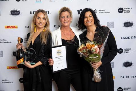 Scorett vinnare i kategorin Årets Omnikanal på Habit Modegalan 2018