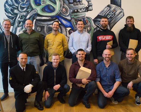15 nye maskinister dimitterer fra MARTEC