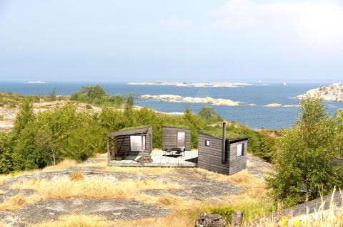 Sommarnöjen presenterar nya Arjan Sauna: 18 små hus för gäster, avkoppling och äkta saunabad