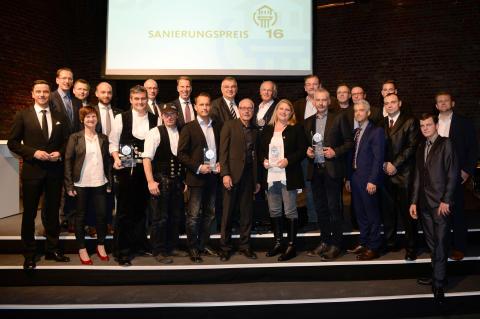 Die Gewinner des Sanierungspreis 16