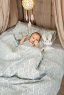 Crib Bedding Set - Color of the Wind - 2