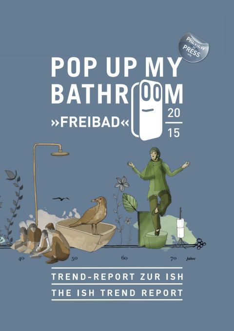 Pressemappe Pop up my Bathroom ISH 2015