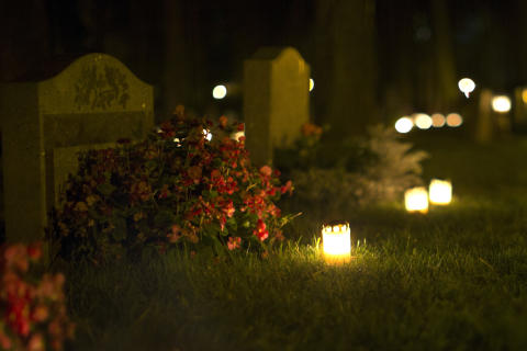 Almost half the population will visit a cemetery this weekend