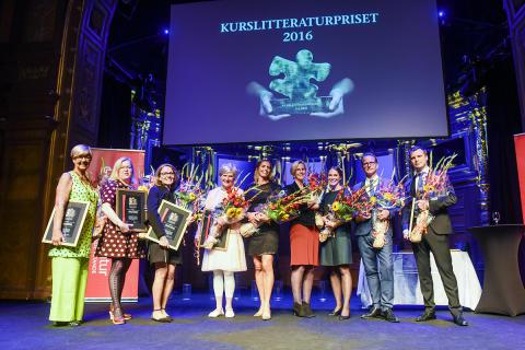 Kurslitteraturpriset 2016 pristagare