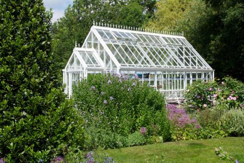 ljuvliga växthus från Vansta Trädgård