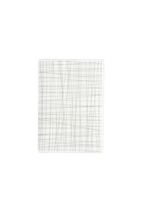 R_Mesh_Line Walnut_Platte 18 x 13 cm flach