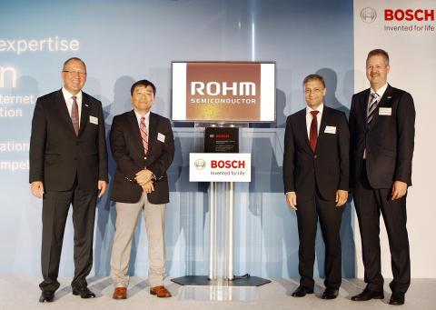 ROHM Semiconductor receives Bosch Supplier Award