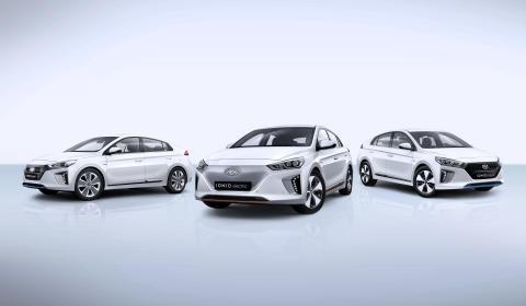 Hyundai lanserer IONIQ plug-in priser
