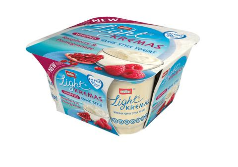 Müllerlight Kremas Raspberry and Pomegranate