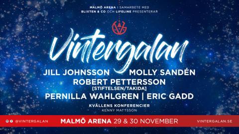 Vintergalan åter till Malmö Arena!