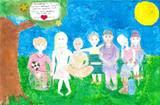 Almåsskolan vann Energikickens teckningstävling