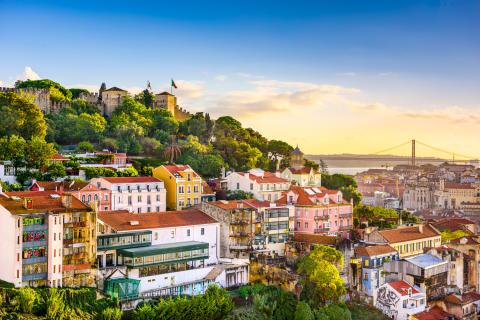 Lissabon uppstickare på topplistan över de hetaste konferensresmålen