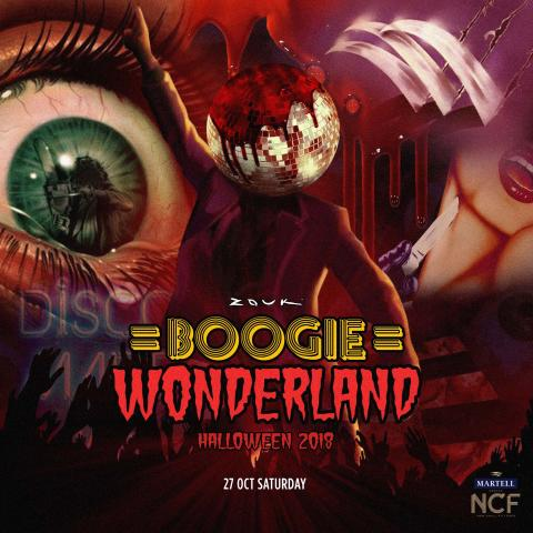 ZOUK HALLOWEEN 2018 PRESENTS: BOOGIE WONDERLAND