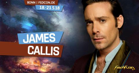 FedCon 2018: James Callis aus Battlestar Galactica kommt nach Bonn