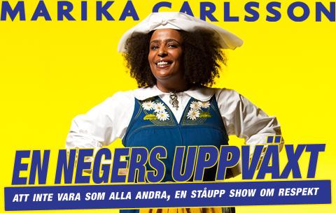 Marika Carlsson – årets kvinnliga komiker 2012
