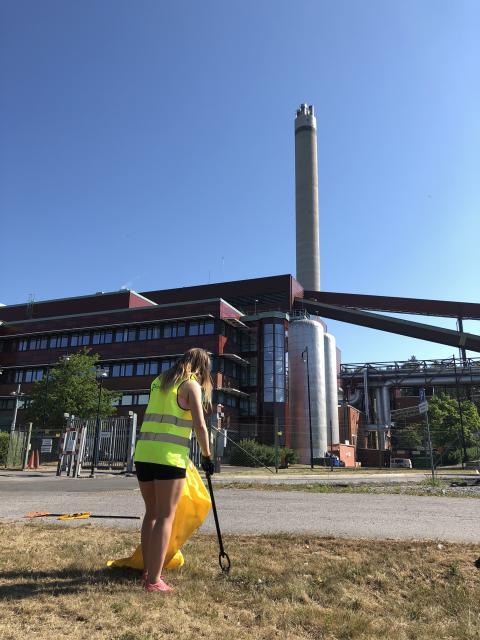 Städa Sverige Igelstaverket Söderenergi