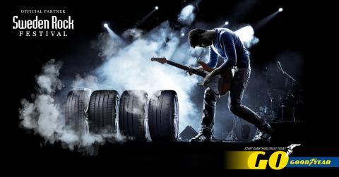 Goodyear - officiell partner - Sweden Rock Festival