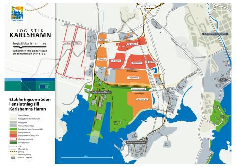 Karta Etableringsområde Stilleryd