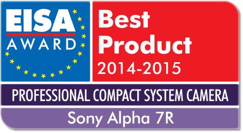 EISA 2014 Professional Compact System Camera of the Year Alpha 7R