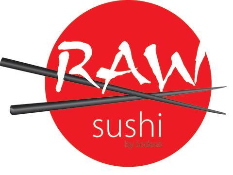 Raw sushi by Sodexo - logo