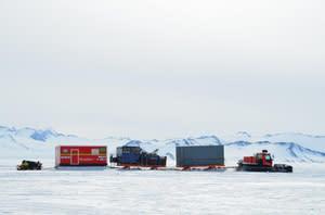 STV bygger forskningsmodul till sydpolsexpedition