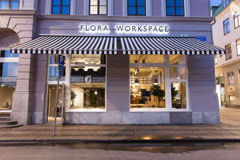 Flora Workspace Grönsakstorget Göteborg
