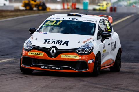 Nicklas Oscarsson, Renault Clio Cup, Skövde