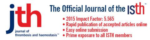 Cereno meddelar att positiva data har publicerats i Journal of Thrombosis and Haemostasis (JTH)