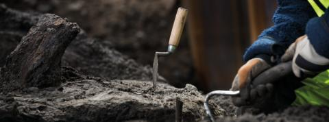 Lär dig mer om arkeologi på söndag!