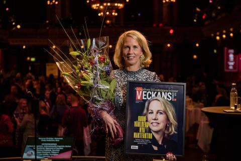 Helena Stjernholm, vd för Industrivärden. Foto: Pax Engström Nyström