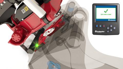 SecureLock™, Indexator Rototilt Systems lösning för säker låsning av redskap på grävmaskiner