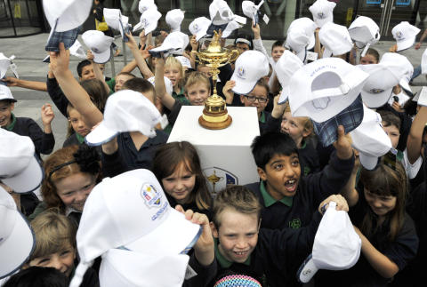 "Iconic Ryder Cup Trophy to visit ""four corners of Scotland"""