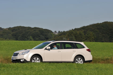 Subaru Outback med Boxer-CNG