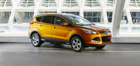Ford Kuga nå også i den lekre fargen Tiger Eye Metallic