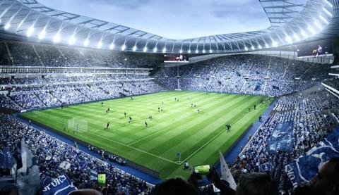 GO Sport Travel storsatsar på Tottenham Hotspur & Tottenham New Stadium