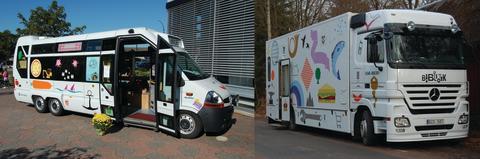 Falkenbergs mobila bibliotek är Årets bokbuss!