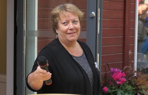 Förskolechef Tina Björk