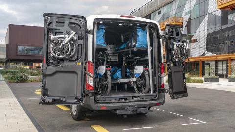 Transportsystem bil sykkel gående Smart Mobility 2019