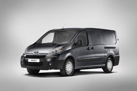 ProAce breddar Toyotas transportprogram i Europa