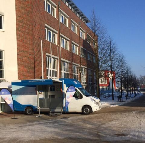 Beratungsmobil der Unabhängigen Patientenberatung kommt am 28. September nach Waren (Müritz).