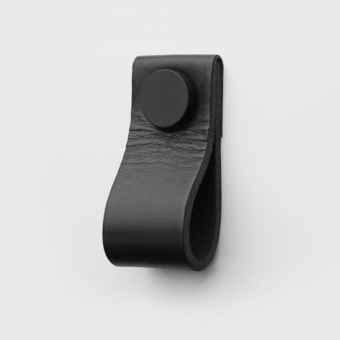 Superfront Handle Loop Black leather Deep Black