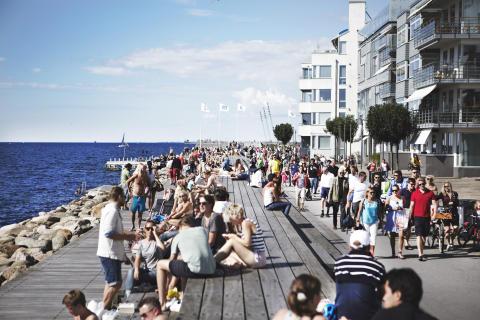 Turismnäringen fortsätter växa i Malmö